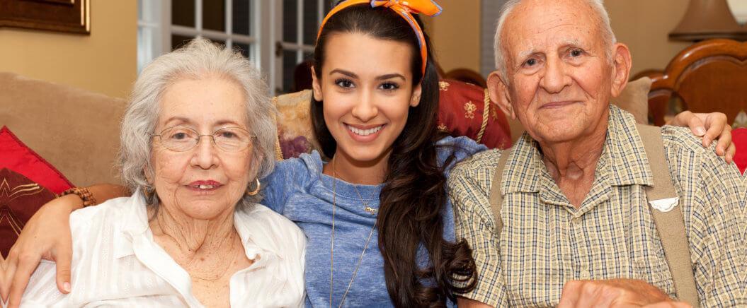 caregiver and elders